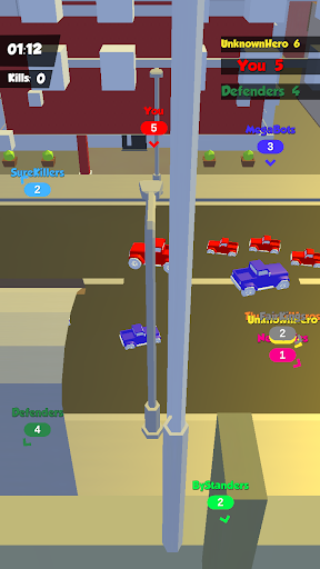 Stunt Car Crowd City Car Drive Game 0.3 screenshots 2