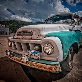 American Classic by Ian Pinn - Transportation Automobiles ( old, studebaker, truck, usa, classic )