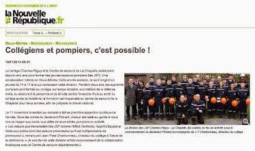 Photo: 2014-11-19 NR Collégiens et pompiers, c'est possible