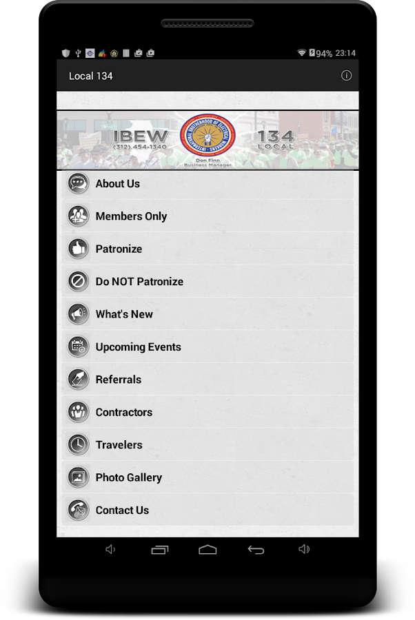 Local 134- screenshot