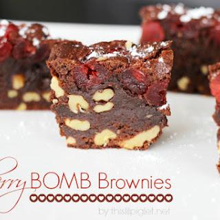 Cherry Bomb Brownies