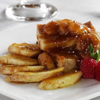 Easy Slow Cooker Bananas Foster