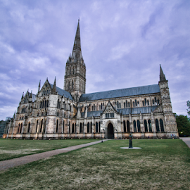 Salisbury cathedral by Gianluca Presto - Buildings & Architecture Places of Worship ( salisbury, historic, church, cathedral, architecture, religion )