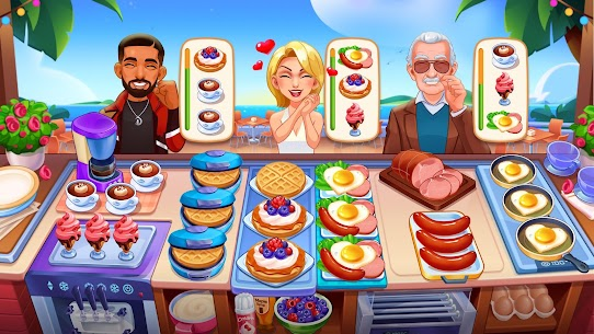 Cooking Dream: Crazy Chef Restaurant MOD (Unlimited Money) 4