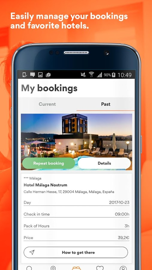 BYHOURS: Book hotel rooms by the hour- screenshot