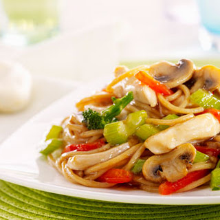 Chicken Noodle Stir-fry.
