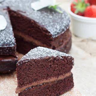 Vegan & Gluten Free Chocolate Cake.