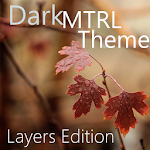 DarkMTRL Thyrus Layers Theme v4.0