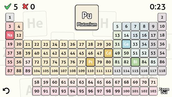 Descargar tabla peridica quiz apk 13 apk para android educativos tabla peridica quiz apk captura de pantalla urtaz Images