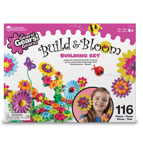 Gears!Gears!Gears!® Build & Bloom Building Set
