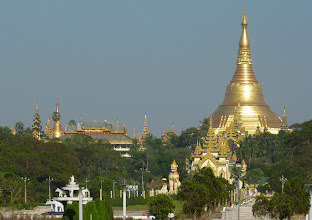 Photo: Shwedagon Pagoda - photo from Peoples' park