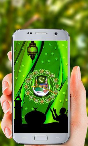 Islamic Clock Live Wallpaper screenshot 1
