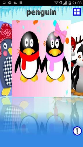 2015聖誕企鵝拼圖