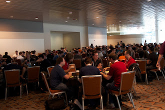 Photo: Start of Day 1 of sessions (not counting Tutorial day)