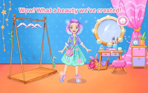Módní šaty do hry pro dívky. Šicí oblečení - náhled