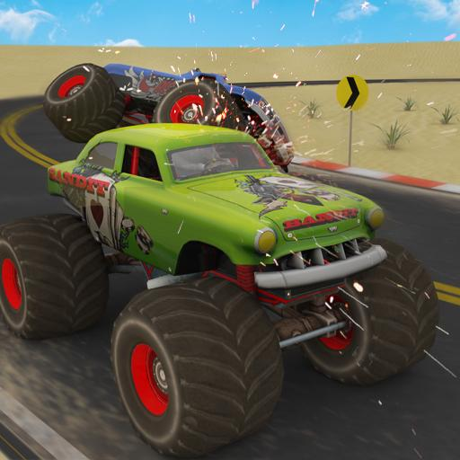 Monster Uphill Truck Racing 4x4 Desert Driving Android APK Download Free By Archbox Games
