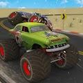 Monster Uphill Truck Racing 4x4 Desert Driving