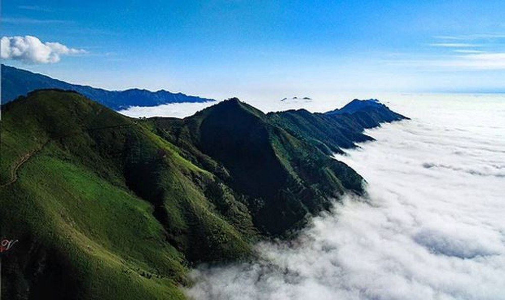 Mây ở Tà Xùa