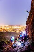 Photo: Night Climbing