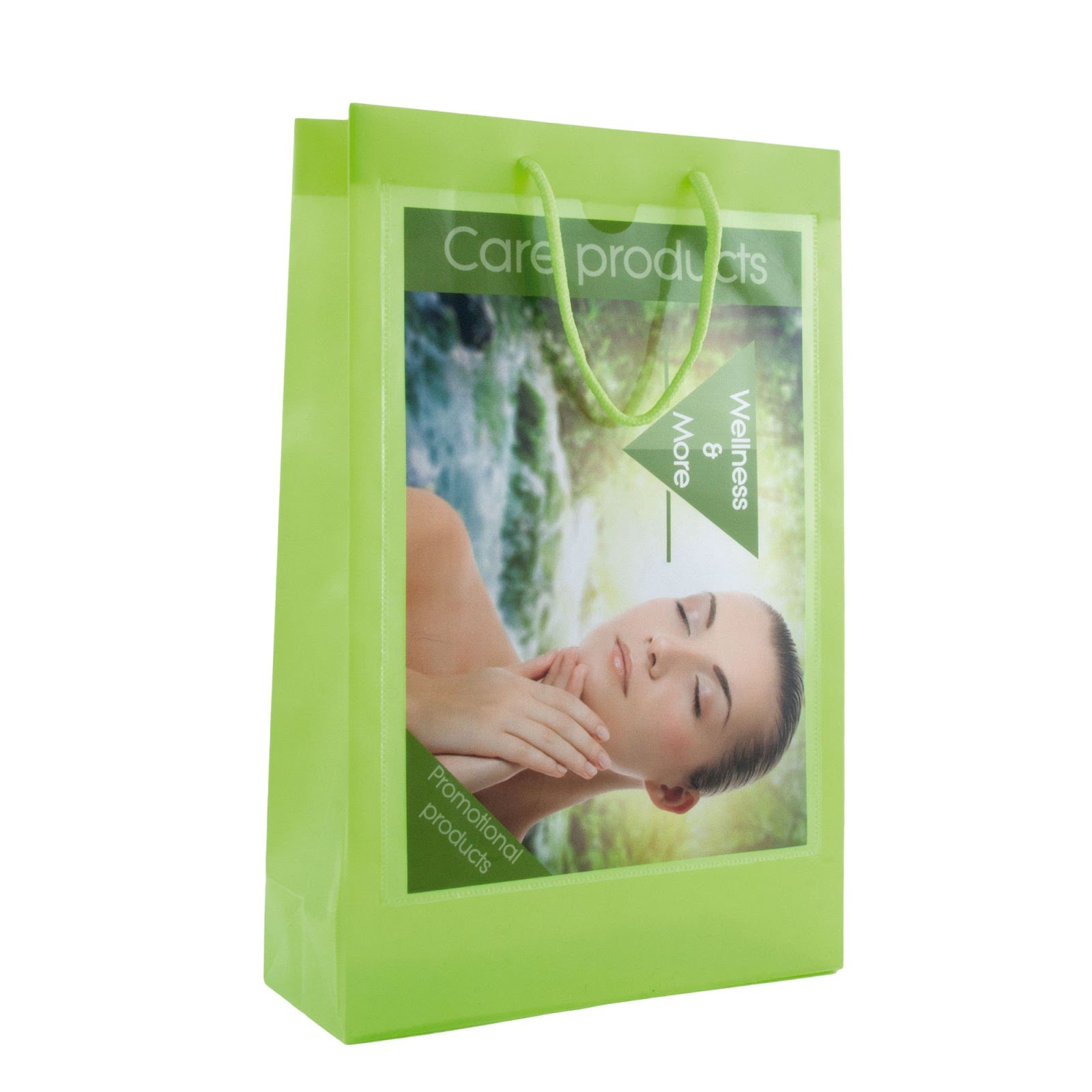 Recyclable Transparent Bags with A4 Windows