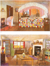 "Photo: 1921. The 'cottage style"". These are designs by M.H.Baillie Scott."