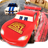 Lightning Cars Traffic Fast Racing 3D