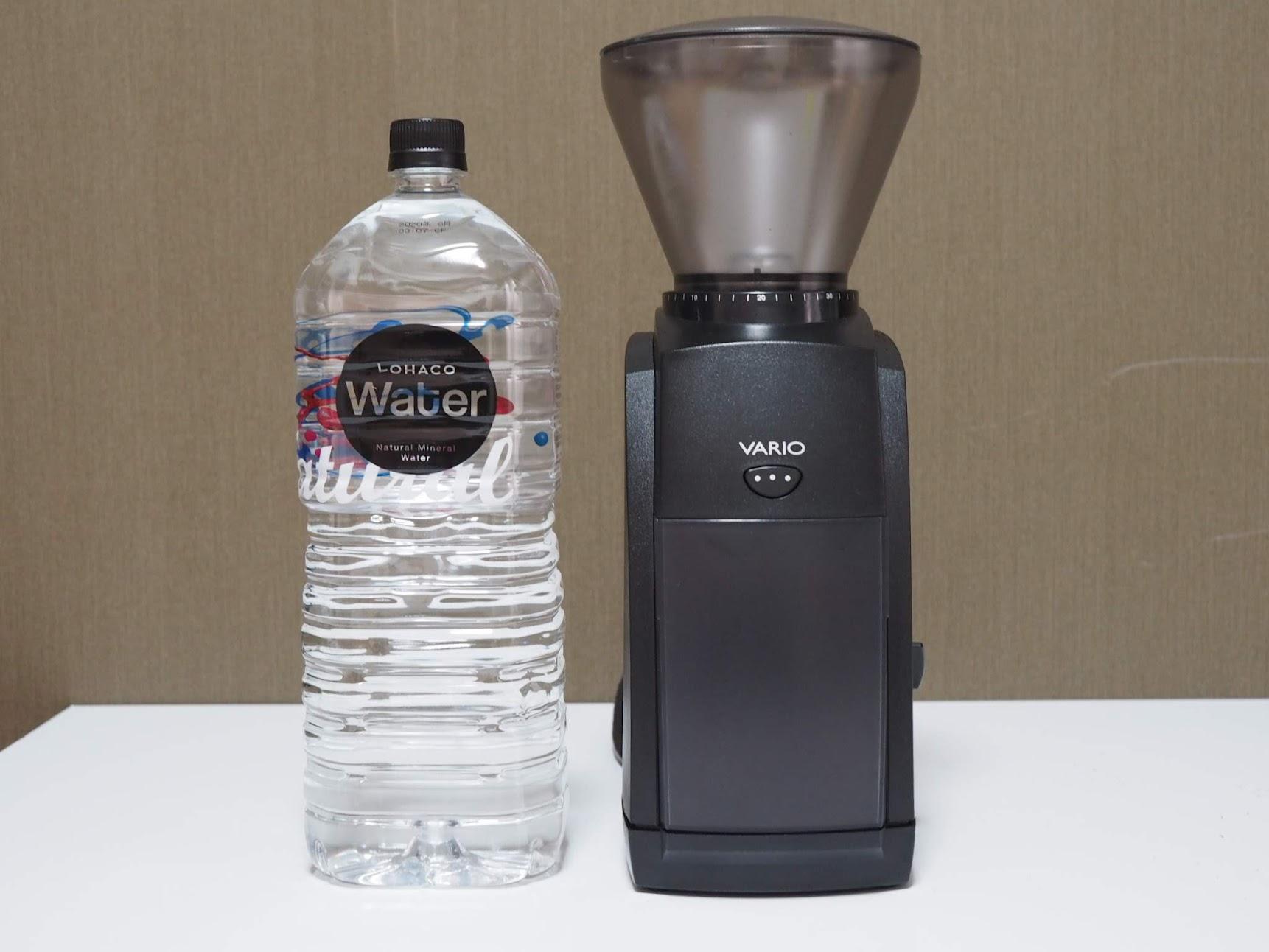 VARIOのサイズ感を2Lペットボトルと比較