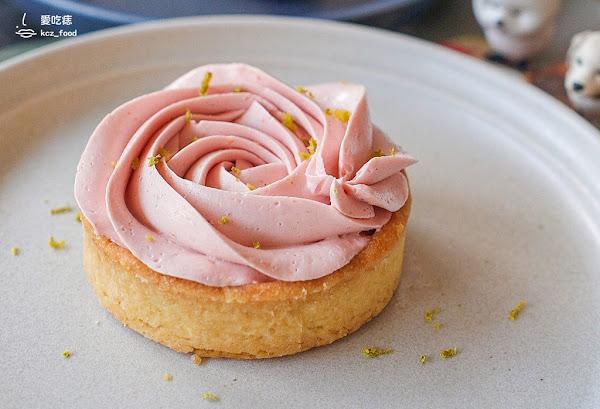 吃一口甜點|高雄鳳山| 鳳山平凡的小咖啡廳,銅板價甜點cp值高,少女心玫瑰檸檬塔好拍好美好好吃~~