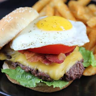 Royal Red Robin Burger.