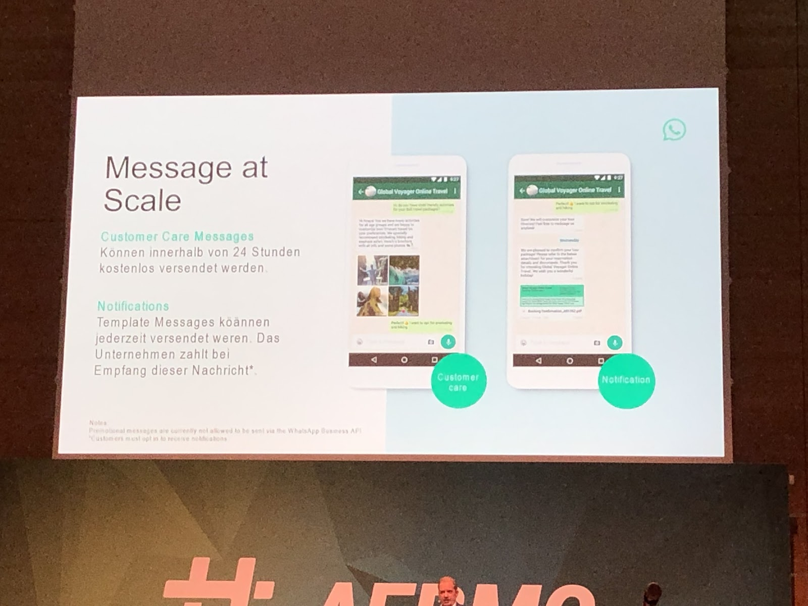 AFBMC WhatsApp Messages