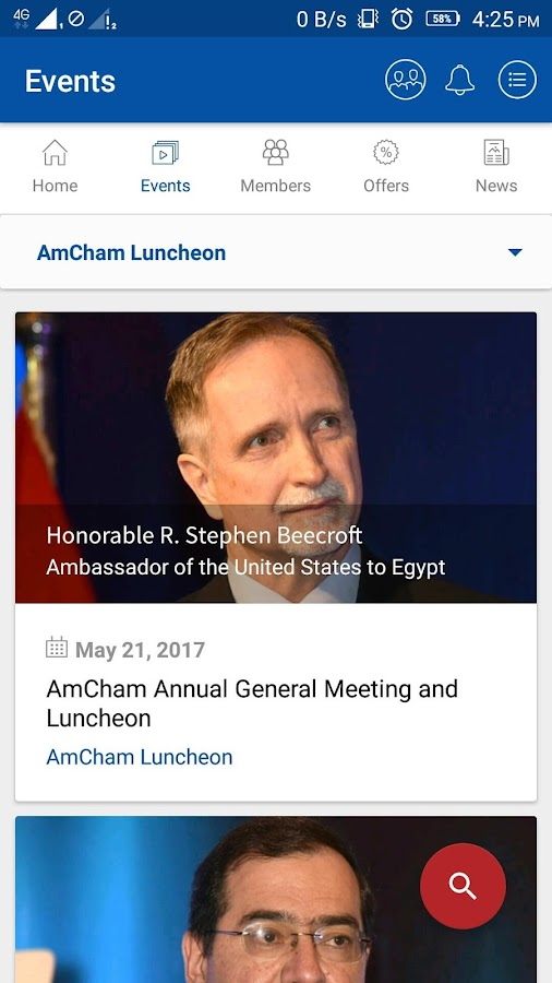 AmCham Egypt- screenshot
