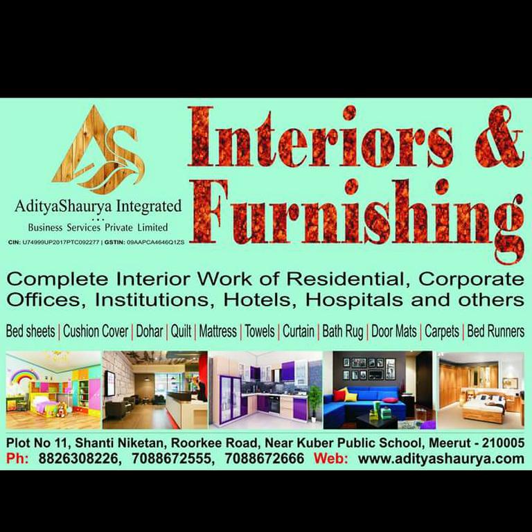 Aditya Shaurya Interior Design And Furnishing Meerut Interior Designer In Meerut