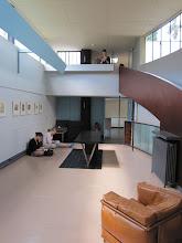 Photo: Sketching at LeCorbusier's Villa LaRoche