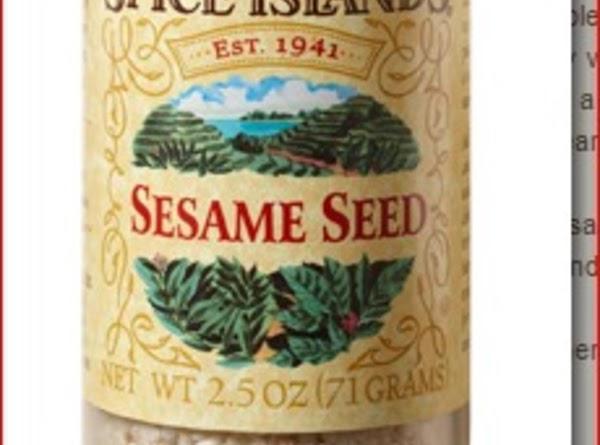 Sesame Seed Crisps Recipe