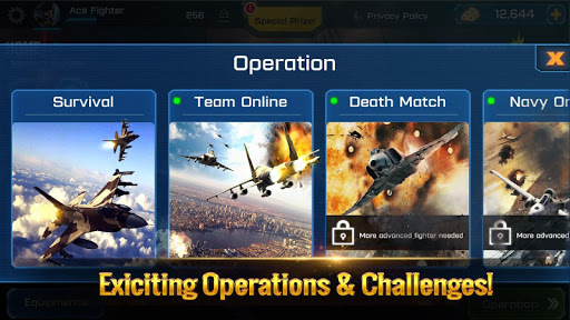 Ace Fighter: Modern Air Combat Jet Warplanes  screenshots 15