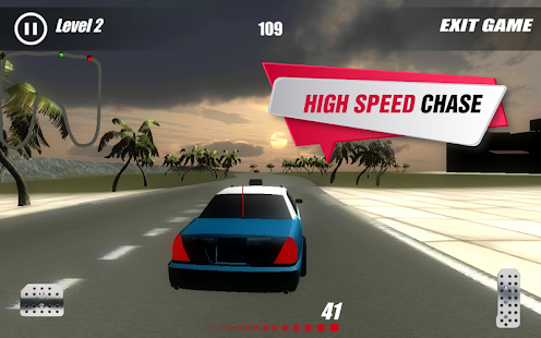 Police Chase Hot Wheels screenshot