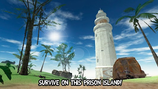 Prison Escape Island Survival screenshot 0