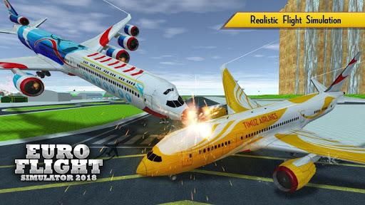 Euro Flight Simulator 2018 1.9 {cheat hack gameplay apk mod resources generator} 5