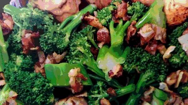~ Sautéed Broccoli ~