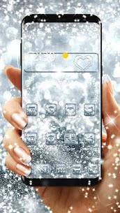 Silver Diamond Sparkle Theme 1