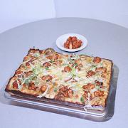 Small Korean Fried Chicken Pizza
