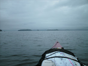 Photo: July 10 - Approaching the Sukoi Islets in Frederick Sound.