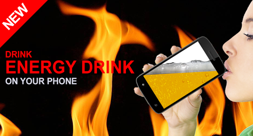 Energy drink on your phone