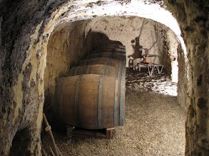 Photo: A winery underneath Château d'Amboise