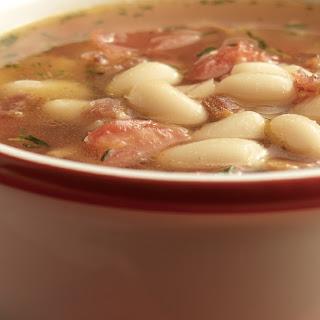 Bush's® Smoky White Bean and Tomato Soup.