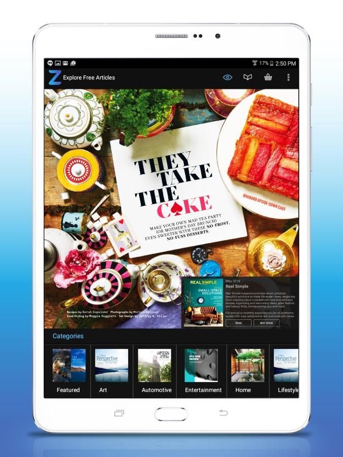 Zinio: 5000+ Digital Magazines screenshot #10