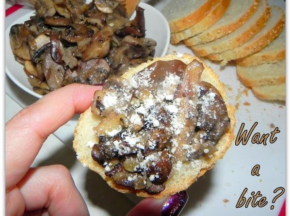 Wild Mushroom Crostini Recipe
