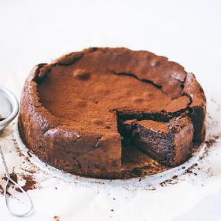Chocolate Almond Torte (GF).