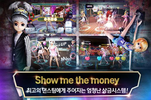 3D모바일 리듬게임의 원조《댄스업》스타패션쇼!