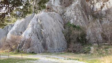 Photo: Falesia di Sstiana, settore Panza del Mus. La descrizione delle vie: http://www.webandana.com/crags/ts/sistiana.html#sectorB